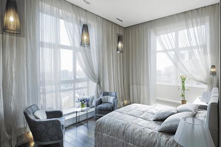 Custom fabrics for bedding and drapery