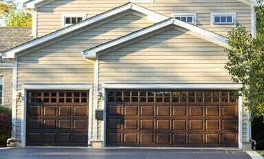 Three Car Wooden Garage, Security Doors In Cedar Rapids IA