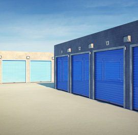 Outdoors storage units