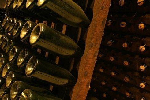bottiglie in fermentazione