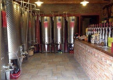 fermentatrori di vino in alluminio