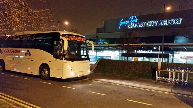 bus for airport travel