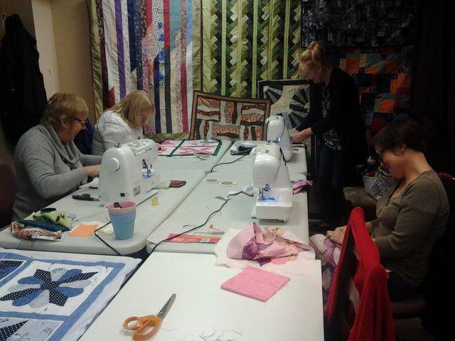 Craft workshop in Gillmot Crafts