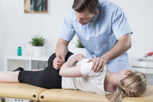 Physiotherapy for hips and back