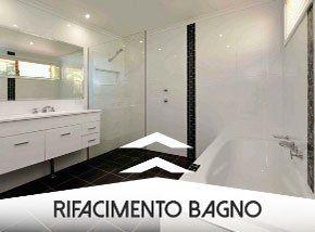 un bagno bianco