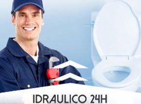 idraulico in tuta blu