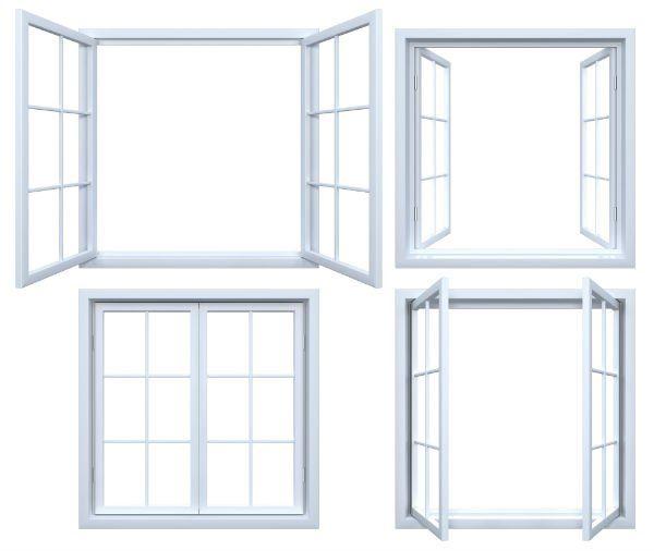 delle finestre bianche