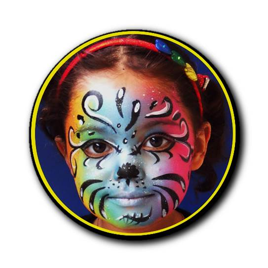 Themed face painting designs