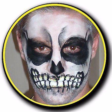 Skull print on boy