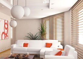 white sofas