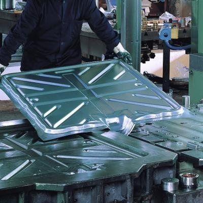 Sheet metal moulding