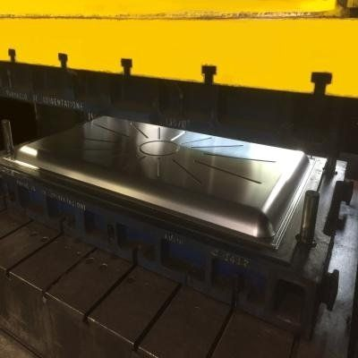 Cold sheet metal moulding
