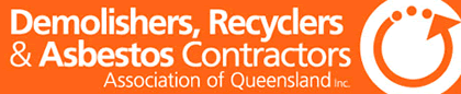 demolishers recyclers and asbestos contractors association of queensland logo
