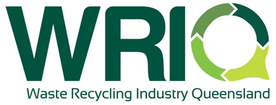waste recycling industry queensland logo
