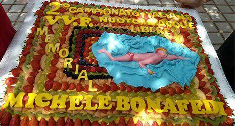 Tortadi frutta personalizzata, Valerio's Bakery