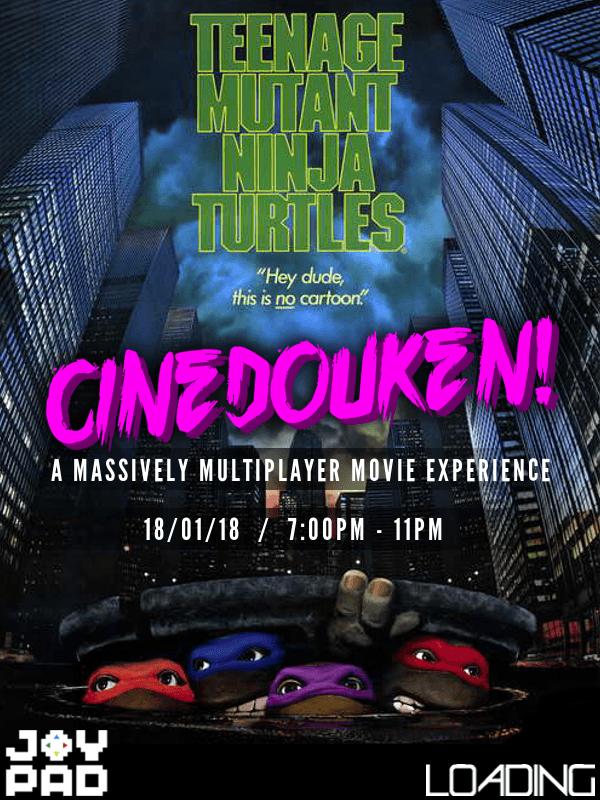 Teenage Mutant Ninja Turtles - Cinedouken!