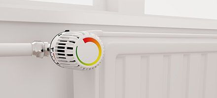 Heating knob