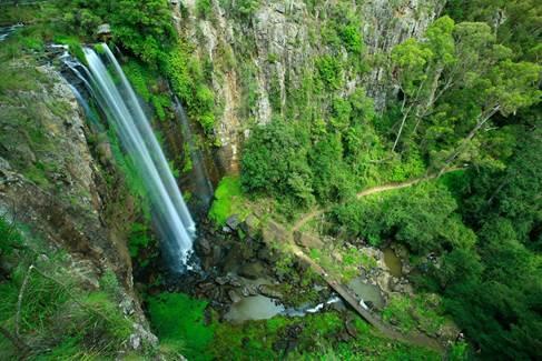 fruit run waterfalls