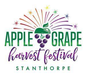 apple and grape festival logo