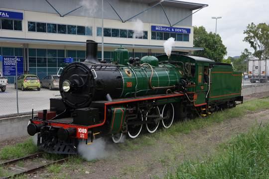 grandchester steam train and ipswich railway museum