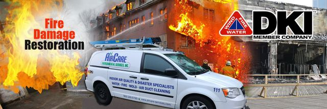 Fire & Smoke Damage Cleanup, Restoration & Rebuilds