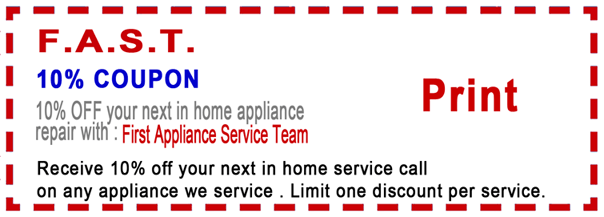 Appliance Repair Service In Bellevue Wa First Appliance