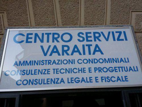 Insegna del Centro Servizi Varaita