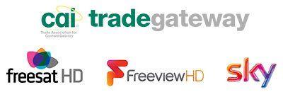 CAI, Trade Gateway, Freesat HD, Freeview HD, Sky