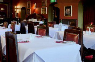 Colonial restaurant at colonial hotel launceston