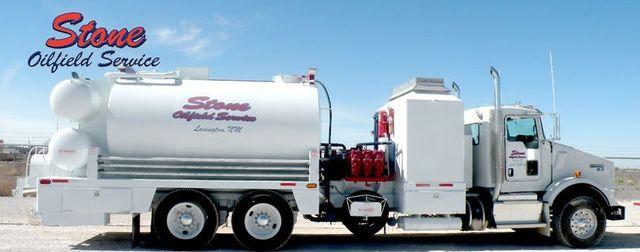 Hot Oiler Truck