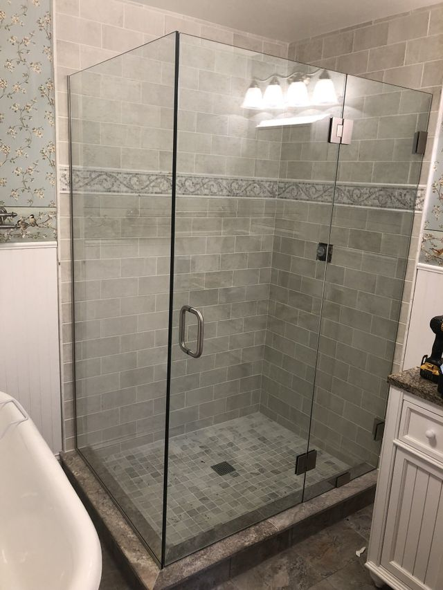Glass Shower Doors Columbus Oh.Columbus Shower Contractor Columbus Oh Custom Elite Glass