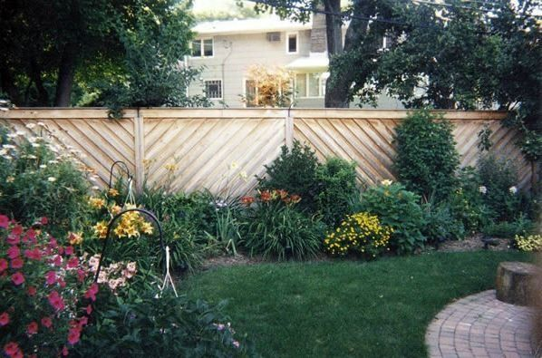White wooden country style fence