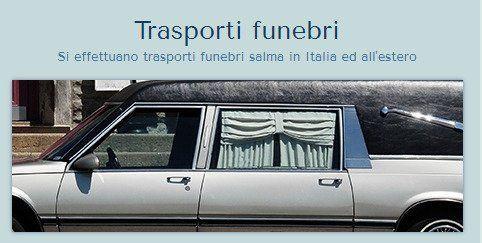 mezzo trasporto funebre