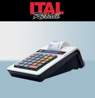 un registratore di cassa con tasti colorati e la scritta ITAL Retail