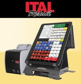 un registratore di cassa e una stampante di scontrini ITAL Retail