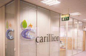 Carillion privacy film