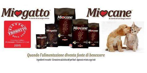 cibo per animali  di qualita a marchio MIO GATTO e MIO CANE
