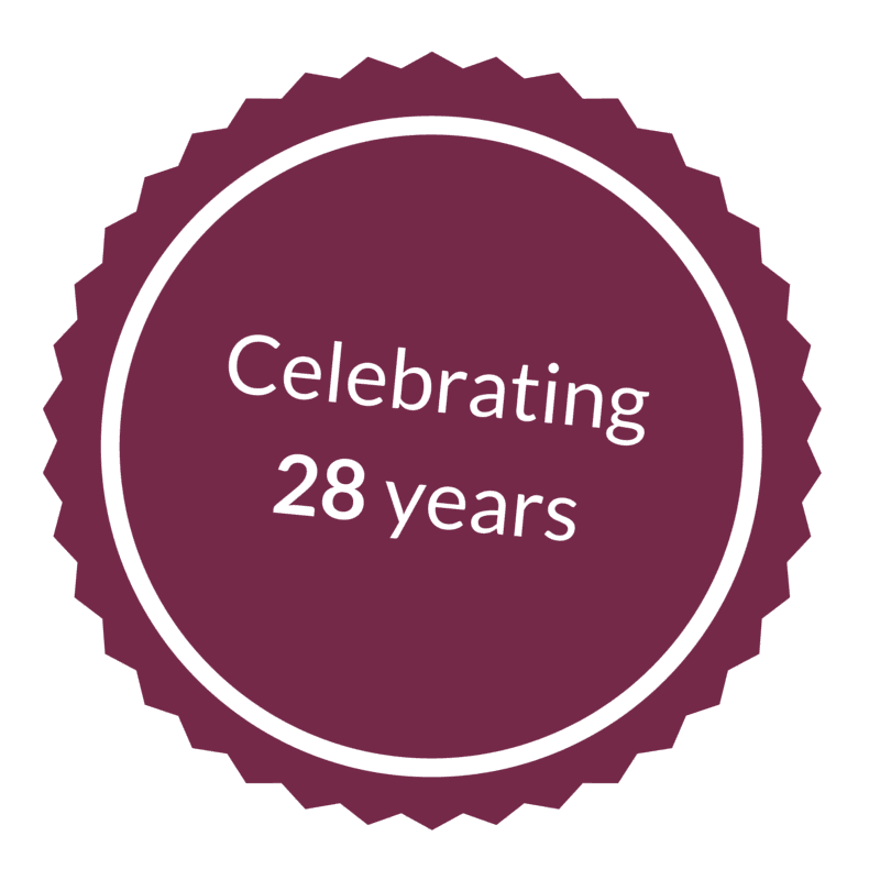 25 years in business icon