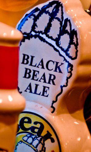 Our exclusive Black Bear Ale
