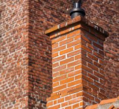 Example of chimney repair in Fairfield, OH