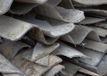 stack of asbestos