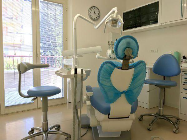 Ampia vista dello studio dentistico