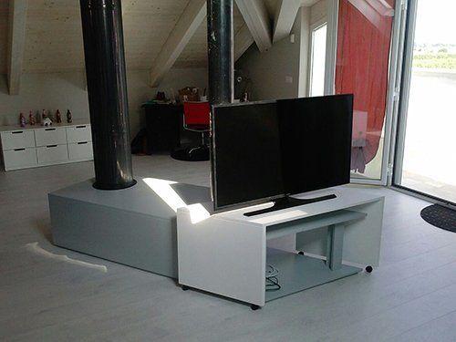 mobile porta televisione