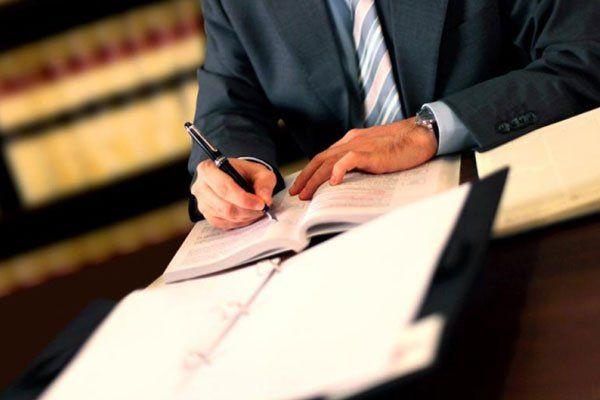 documento di scrittura avvocato