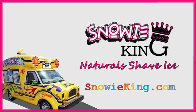 Snowie King Naturals Shave Ice