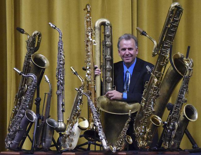 Disneyland Saxophonist Rob Verdi