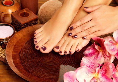 mani e piedi dopo trattamenti manicure e pedicure