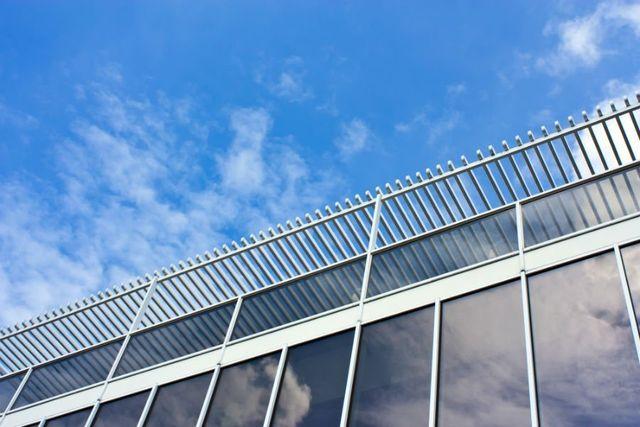 Copertura di barre di alluminio della terrazza