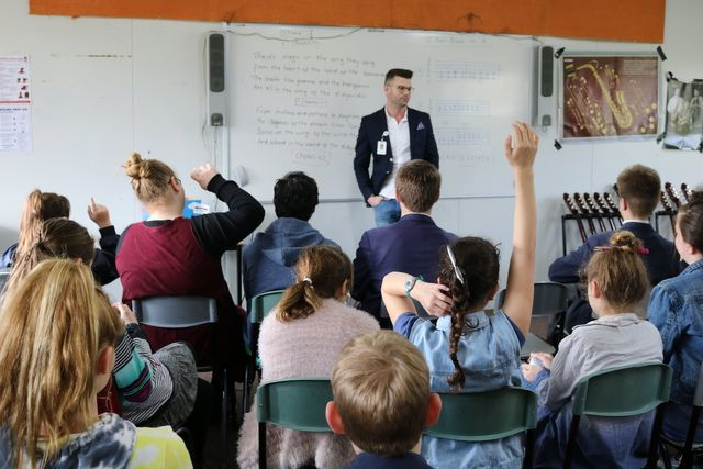 VCAL students host successful careers seminar