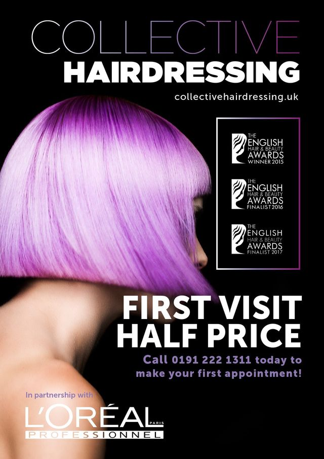 Hairdressing in Newcastle by Collective Hairdressing